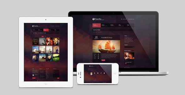 KnowHow Responsive HTML Template - Creative Site Templates