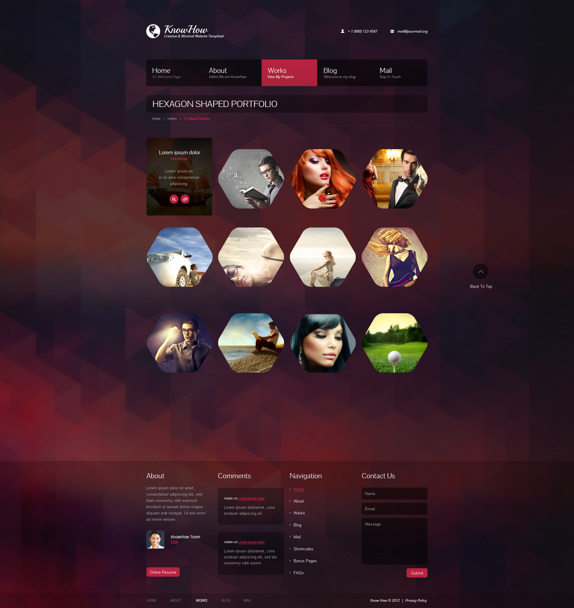 KnowHow Responsive HTML Template