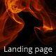 Get The Flame Landing Page - ThemeForest Item for Sale