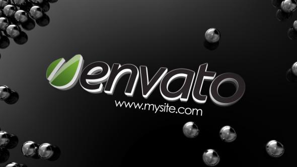 VideoHive Chrome balls logo 3457211