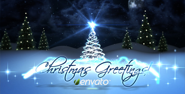 VideoHive Christmas Greetings 3455603