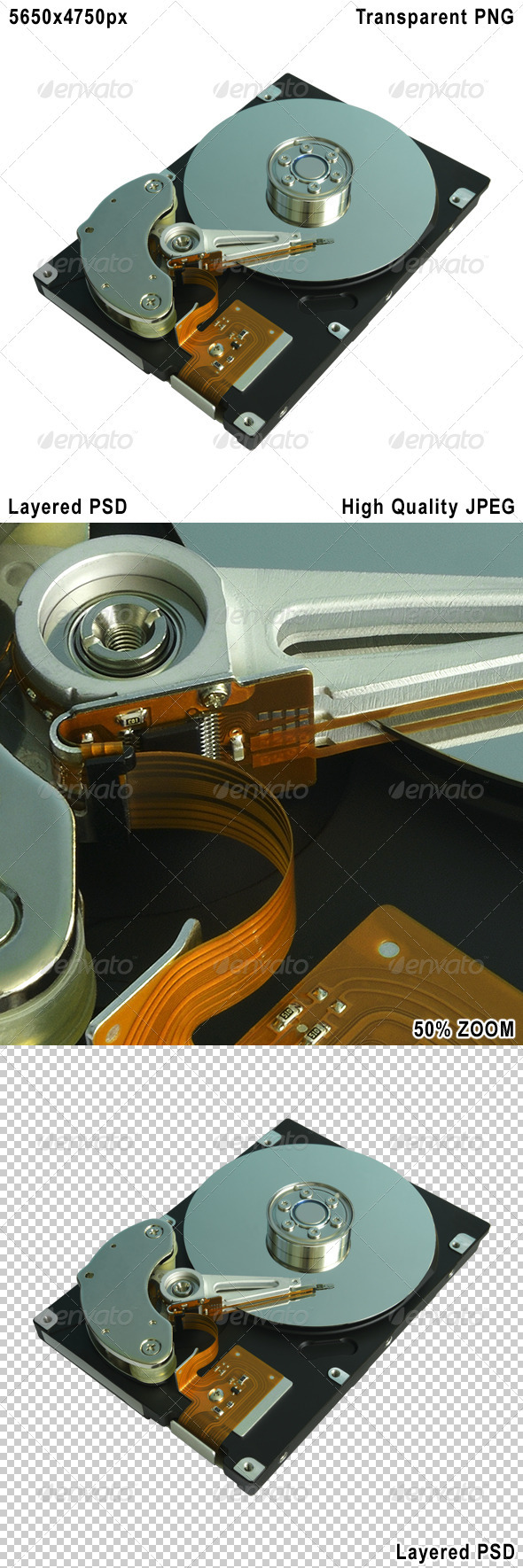 Hard Disk Drive - Technology Isolated Objects