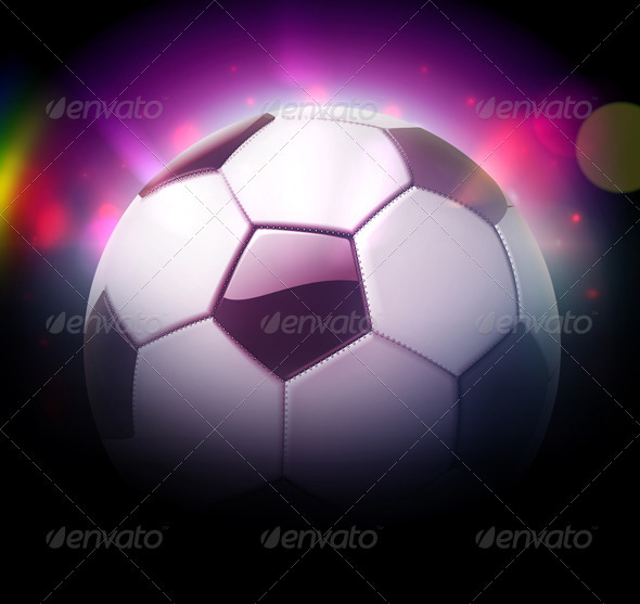 GraphicRiver Football Soccer Concept 3490696