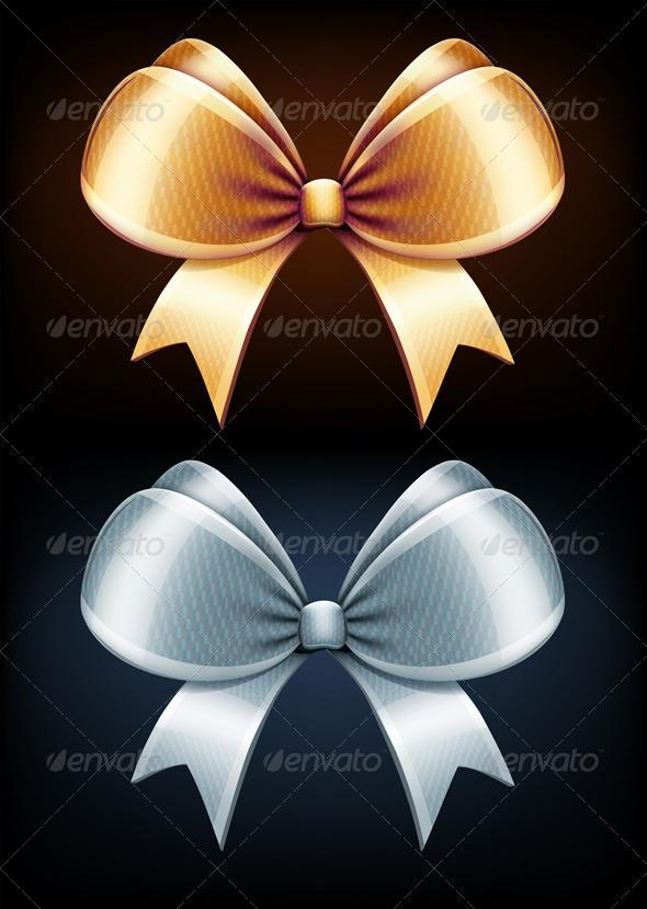 GraphicRiver Classic Bows 3491120