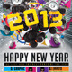 2013 Happy New Year Flyer Template - GraphicRiver Item for Sale