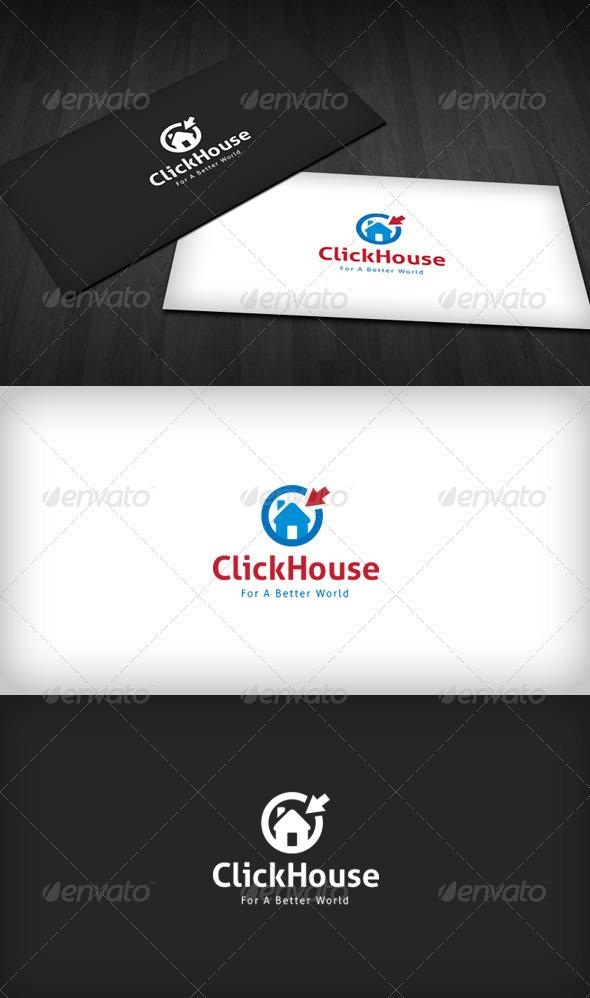 GraphicRiver Click House Logo 3491678