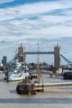 London Bridge with HMS Belfast - PhotoDune Item for Sale