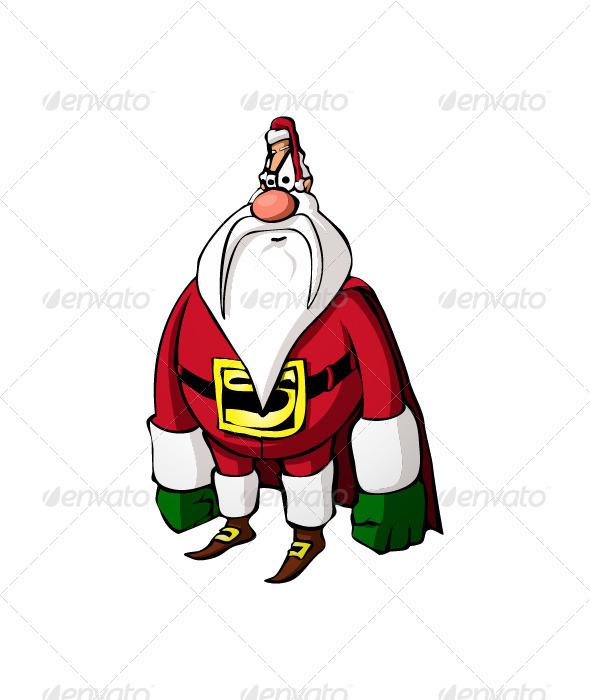 Super Santa Claus - Christmas Seasons/Holidays