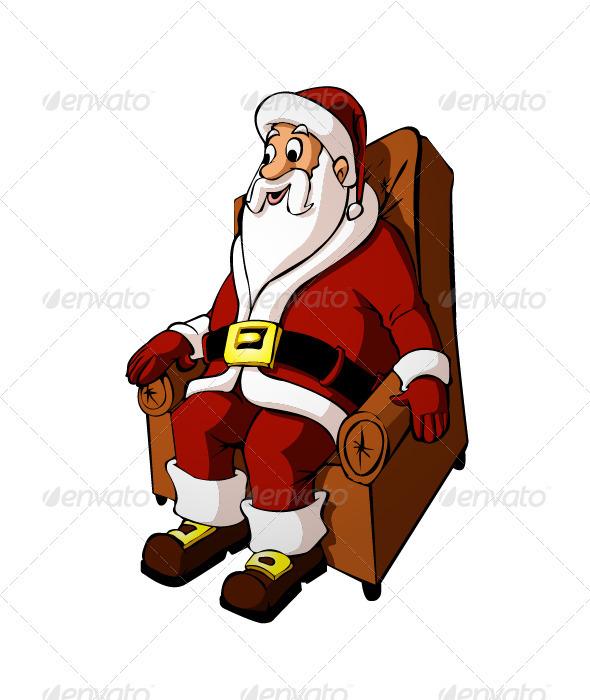 GraphicRiver Santa Claus 3493400