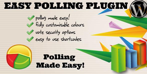 CodeCanyon WordPress Easy Polling Plugin 3493930
