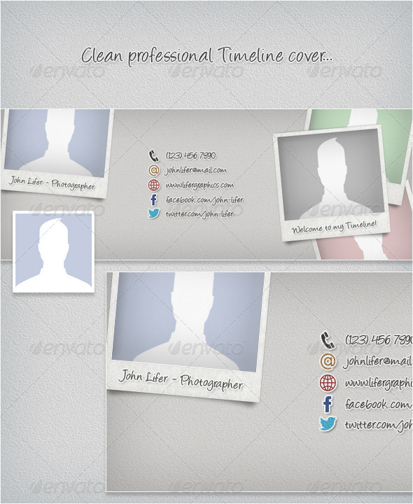 GraphicRiver Clean Professional Timeline Cover 3467721