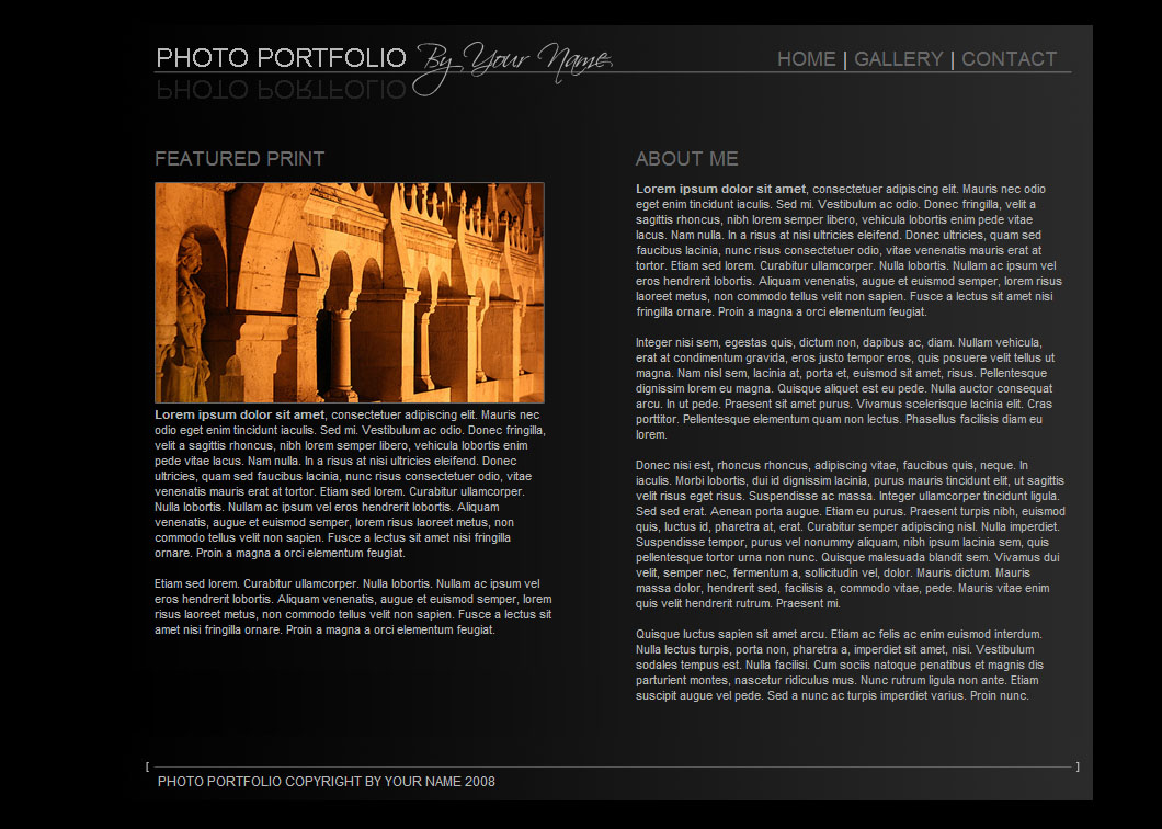 Sleek Portfolio