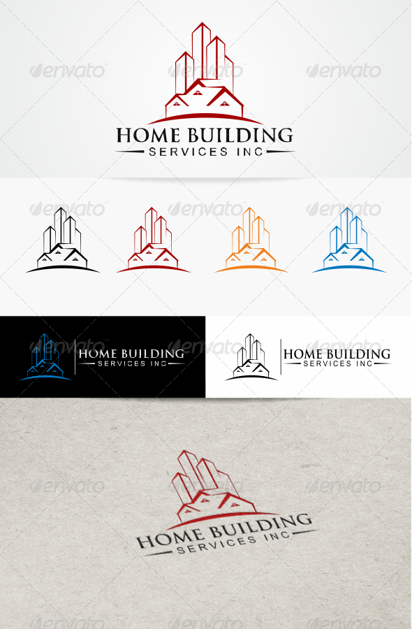 GraphicRiver Home Building 3466993