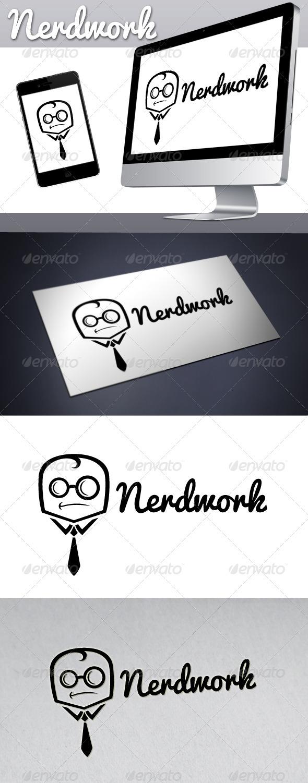 Geek Work Nerd Work Logo