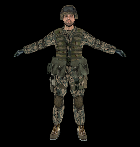 3DOcean Soldier 3494843