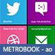 FB Metrobook Timeline Cover - GraphicRiver Item for Sale