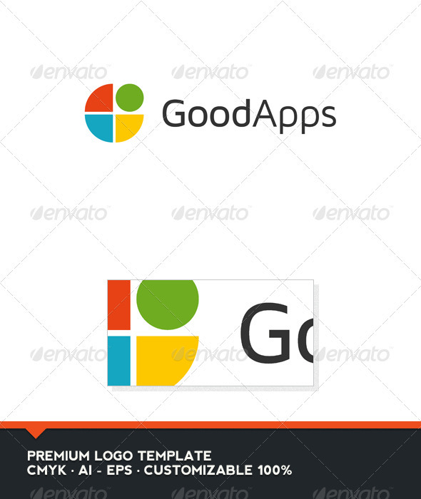 GraphicRiver Good Apps Logo Template 3495119
