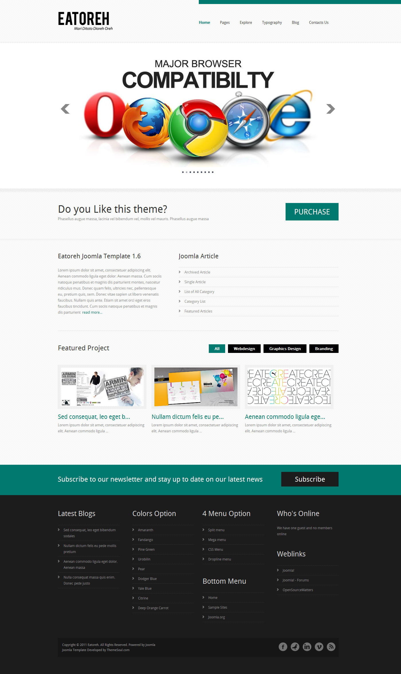Eatoreh - Clean and Fresh WordPress Themes