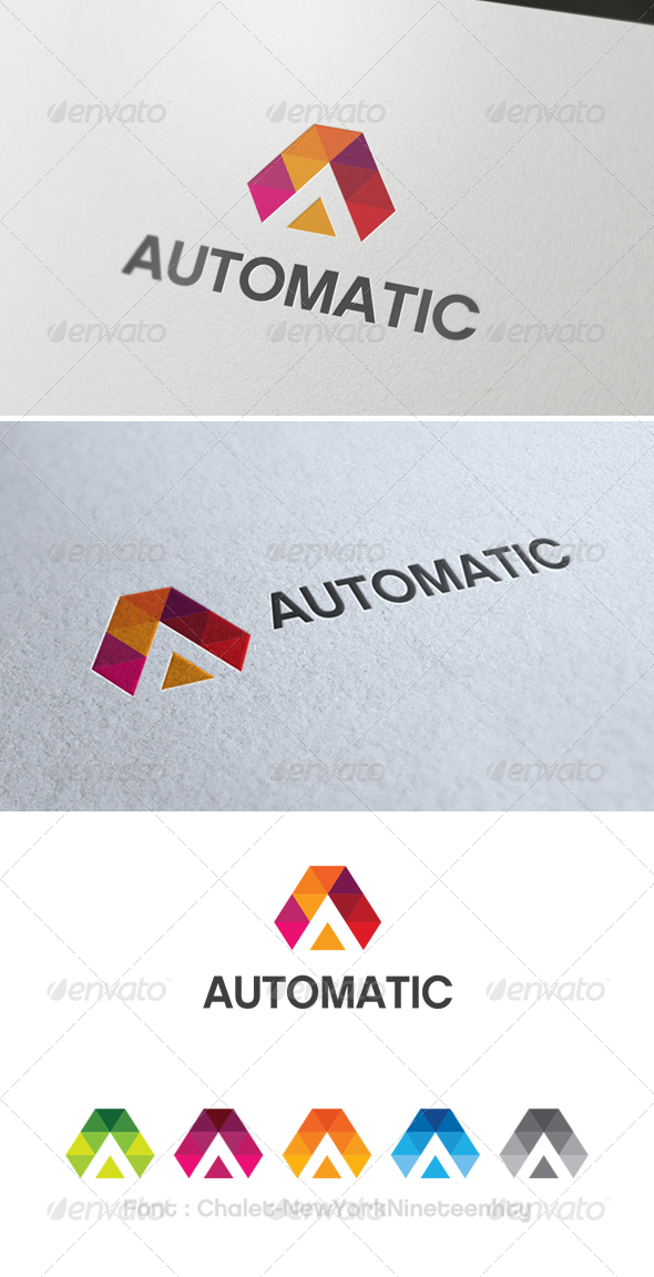 GraphicRiver Autometic Logo Template 3495572