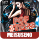 Pop Stars Flyer - GraphicRiver Item for Sale