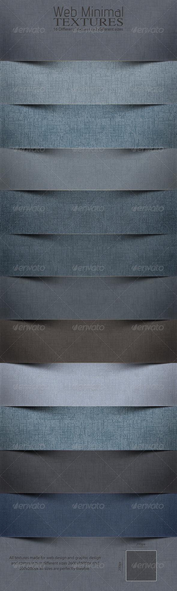 Web Minimal Textures 4.0 - Patterns Backgrounds
