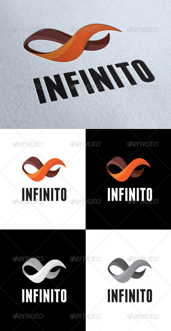 GraphicRiver Abstract Infinity Logo 3496218