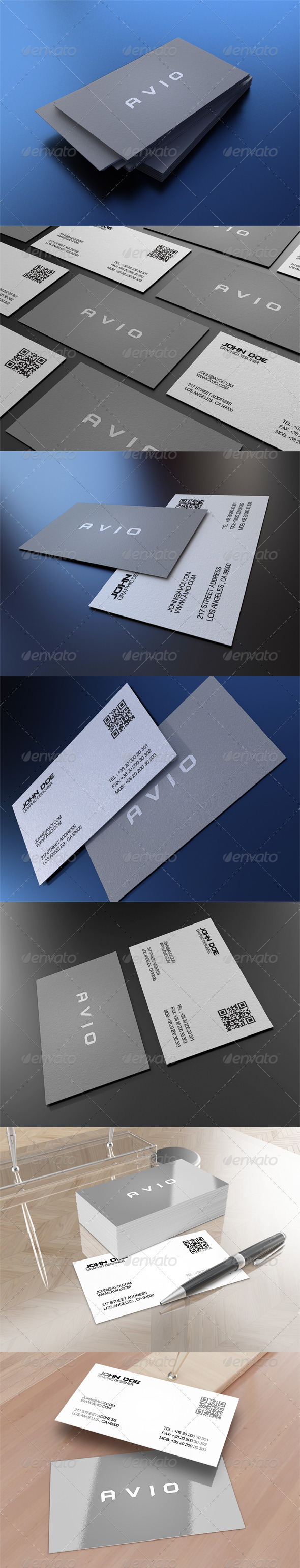 GraphicRiver Corporate Business Card 3 3496871