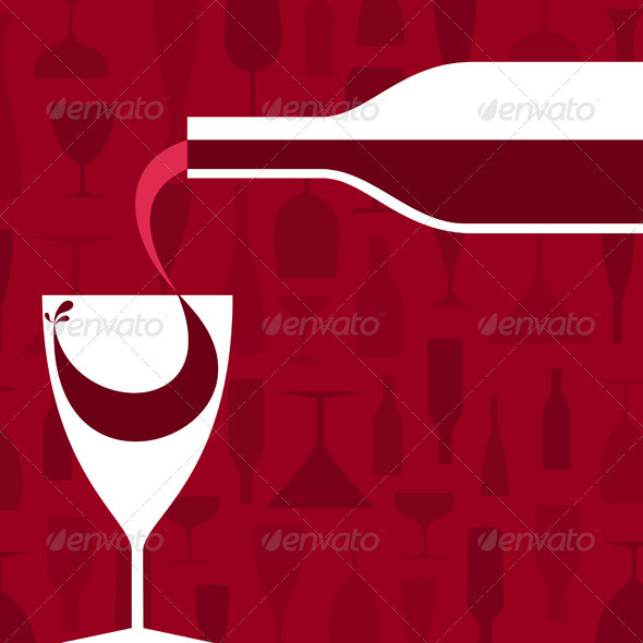 GraphicRiver Wine 3497300