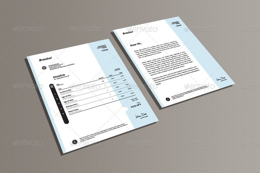 Invoice & Letter Templates