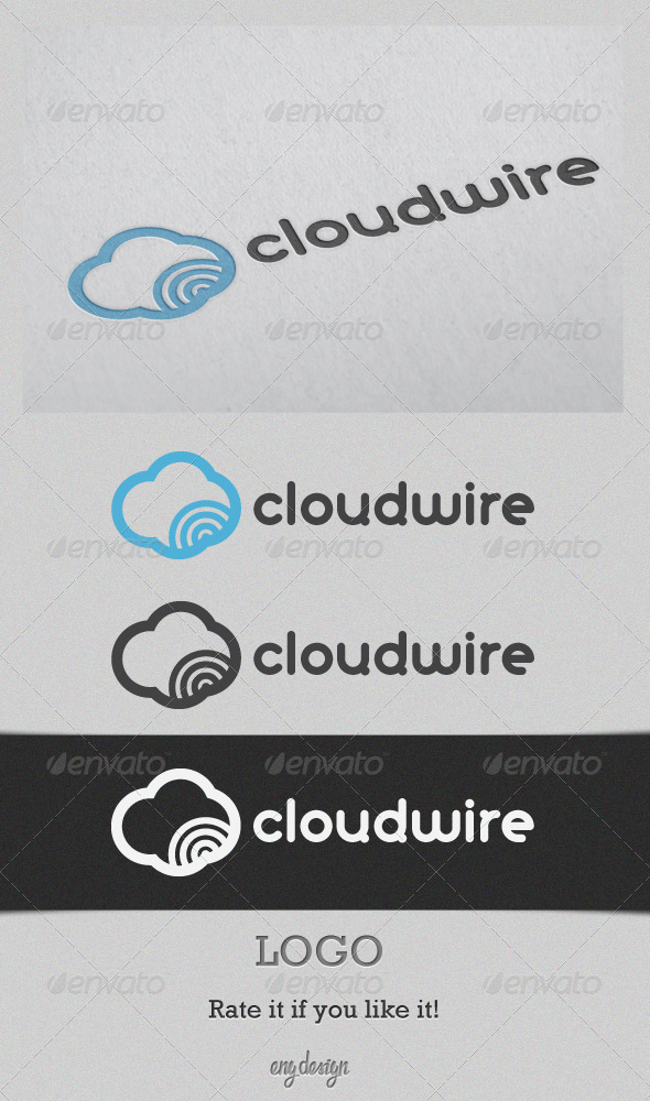 Graphic River cloudwire Logo Templates -  Symbols 1483341