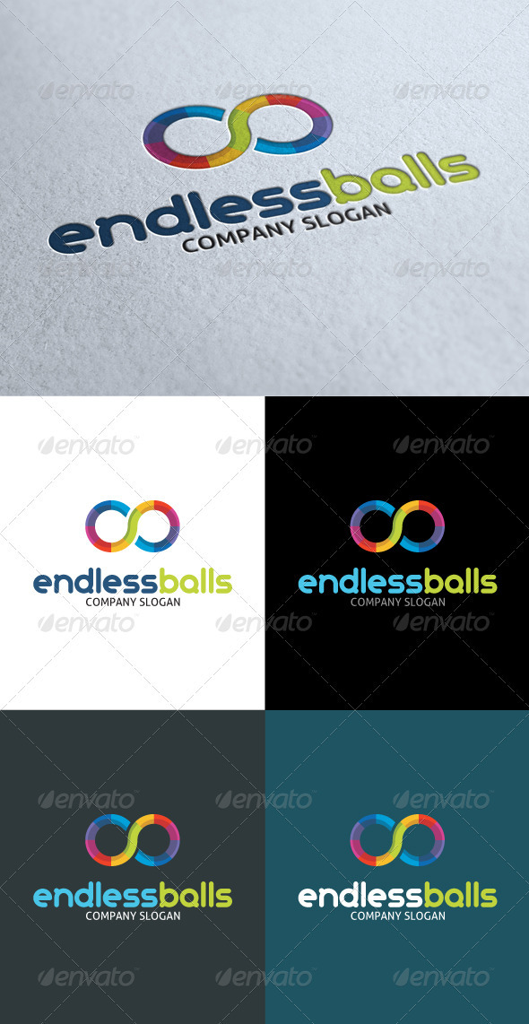 GraphicRiver Endless Balls Logo 3498194 Created: