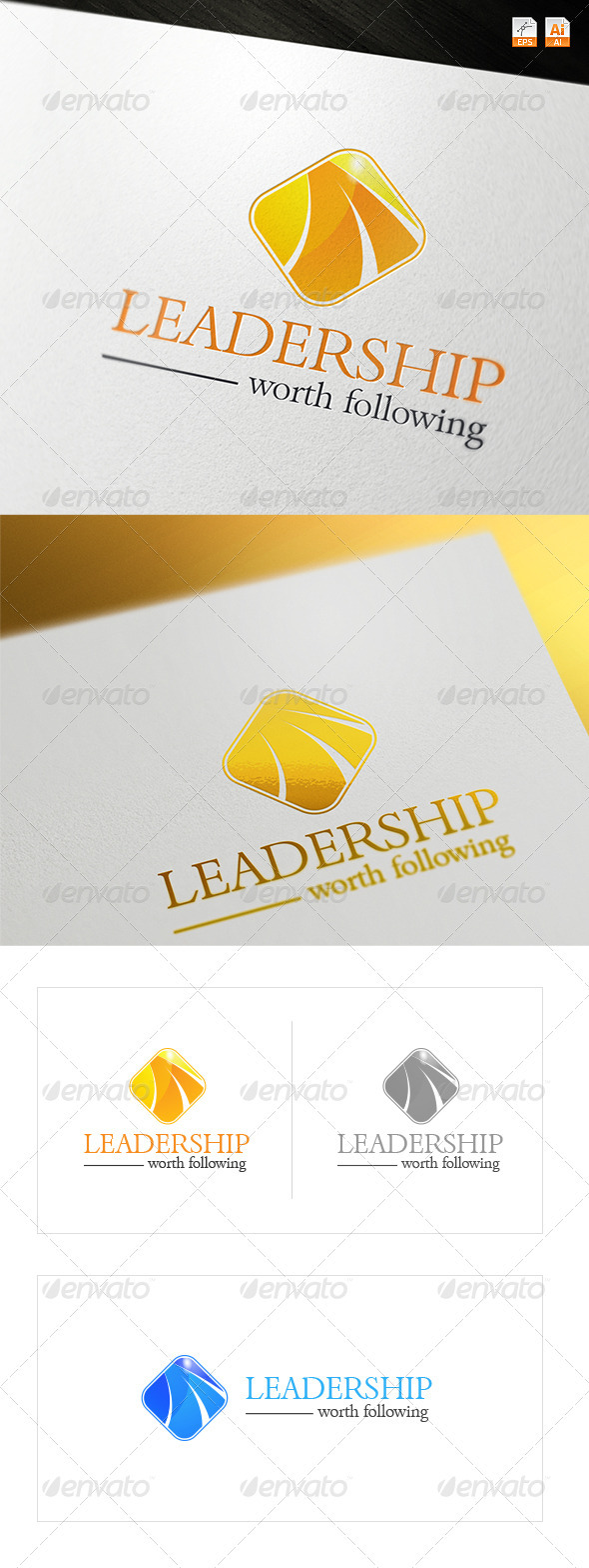 GraphicRiver Leadership Logo 3490454