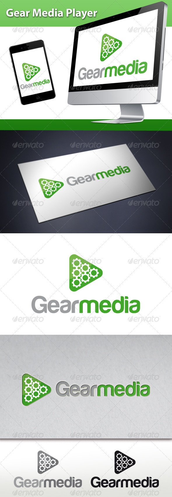 GraphicRiver Gear Media Player Logo 3494817