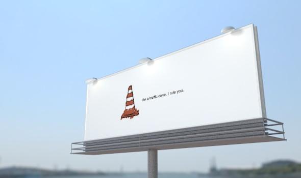 3DOcean Cinema 4D billboard advertising 3498755