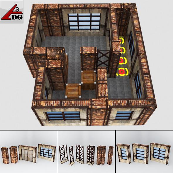 3DOcean Warehouse Game Box 3498975