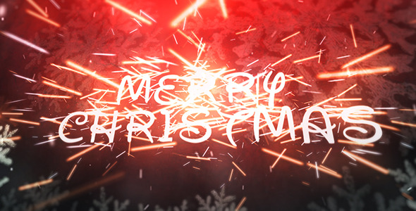 VideoHive Christmas Sparks 3499020