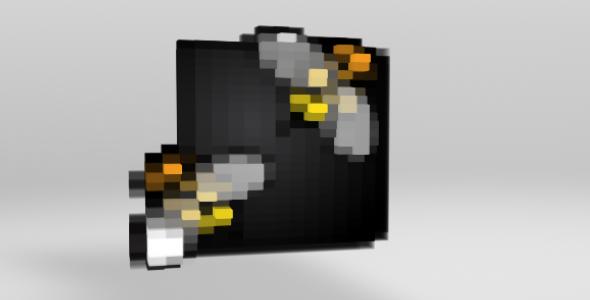 VideoHive Pixelate Logo 3499024