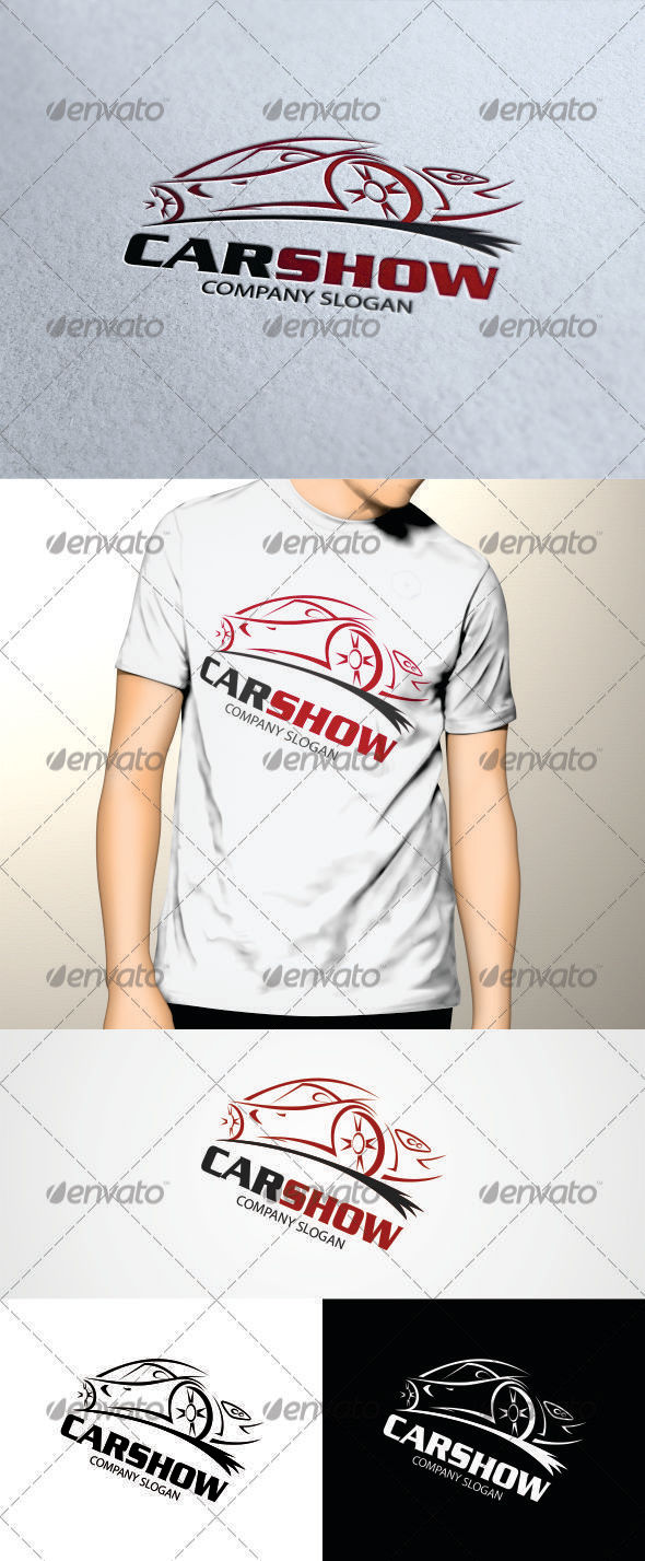 GraphicRiver Car Show Logo 3409529