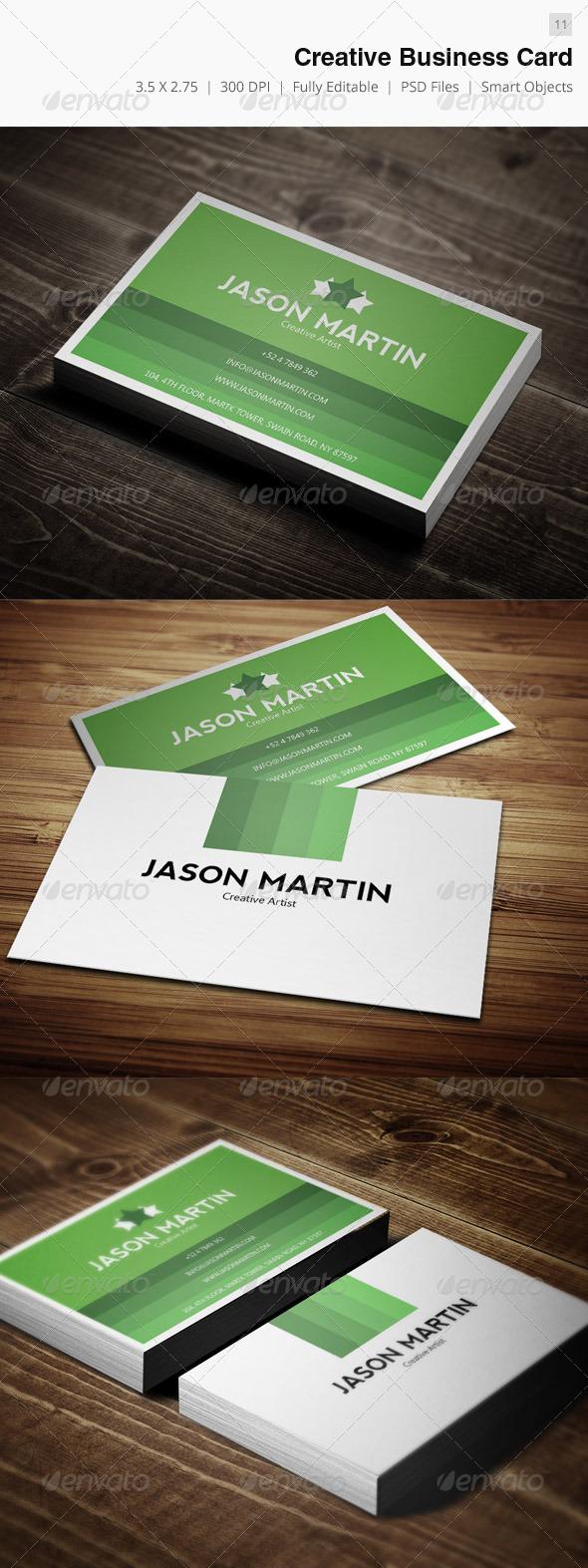 GraphicRiver Creative Business Card 11 3500908