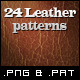 24 Tileable Leather Textures - GraphicRiver Item for Sale