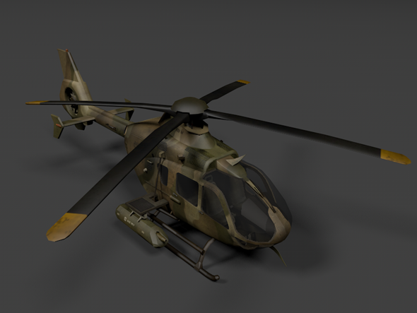 3DOcean Tiger Helicopter 3501155