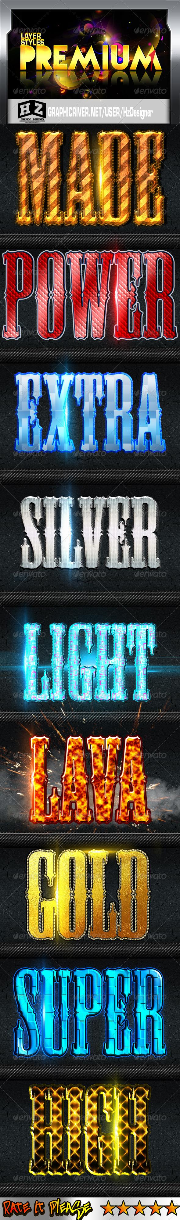 GraphicRiver Premium Styles l 3501786