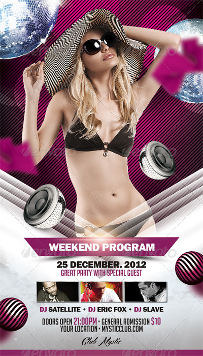 Modern Week Flyer Template Vol.2