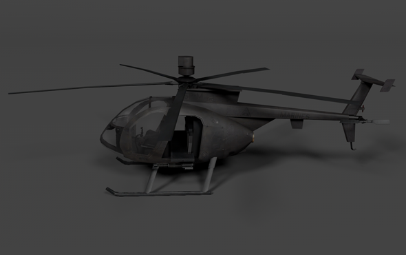 3DOcean Spy Helicopter 3502782