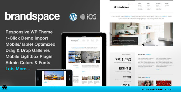 Brandspace Responsive Portfolio & Business Theme - Corporate WordPress