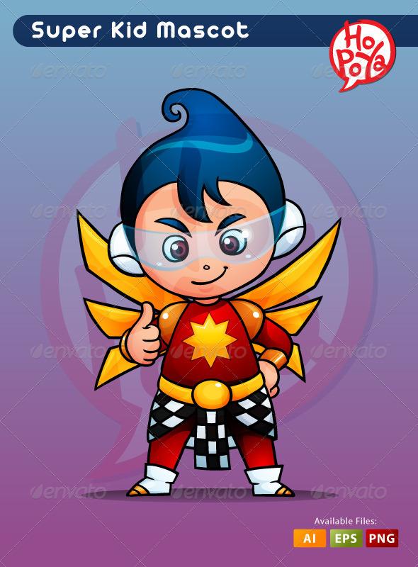 GraphicRiver Super Kid 3503080