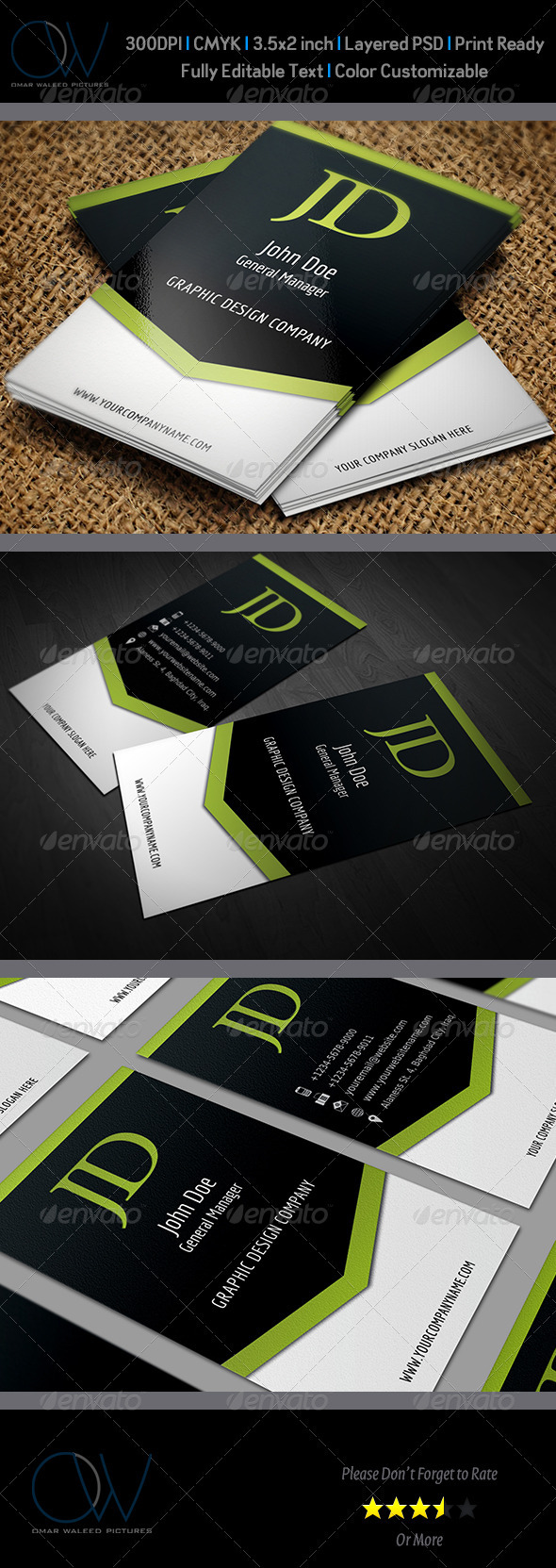 GraphicRiver Creative Business Card 3503424