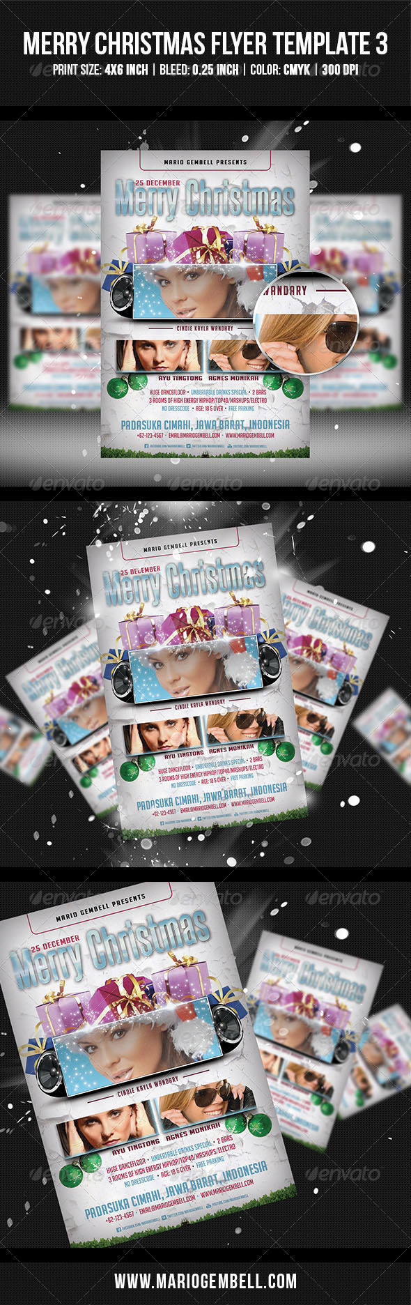 GraphicRiver Merry Christmas Flyer Template 3 3503568