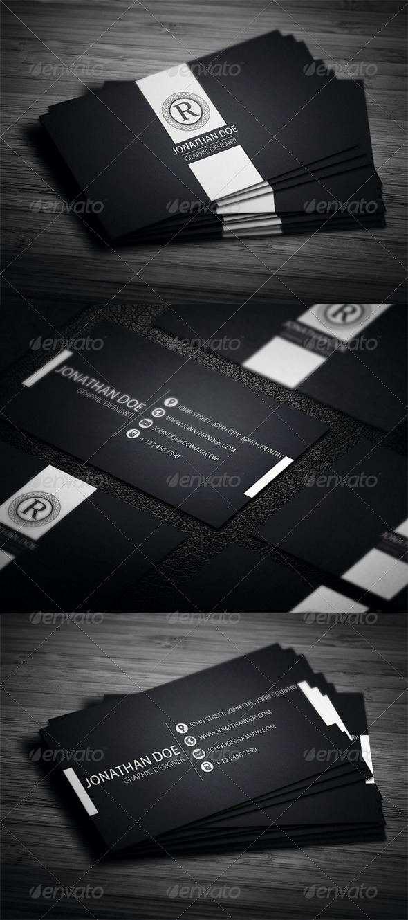 GraphicRiver Elegant Business Card 3475431