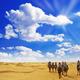 Tourist on Camel On Hot Sahara Sun  - PhotoDune Item for Sale
